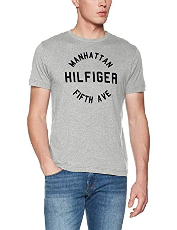 Tommy Hilfiger Wcc Owen C-nk Tee S s Rf T-shirt in Gray for Men - Lyst 1fa5ebc43ce