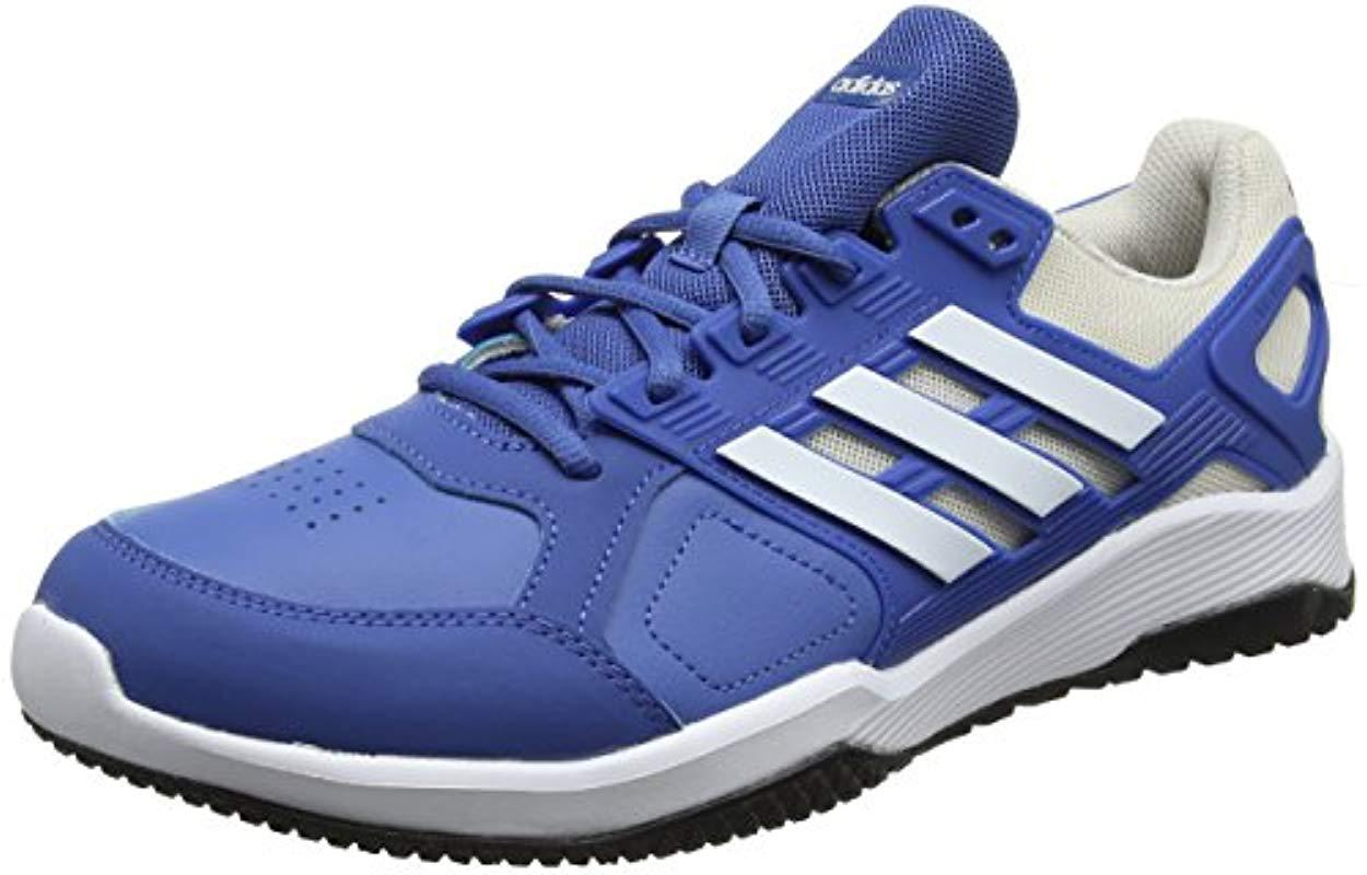 372c94d93 adidas  s Duramo 8 Trainer Fitness Shoes in Blue for Men - Lyst