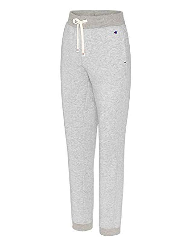 c7fa909aa17b Lyst - Champion Heritage French Terry 7 8 Jogger in Blue