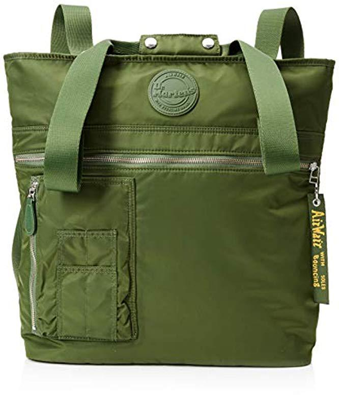 14507b07b3d4 Dr. Martens Unisex Flight Tote Canvas And Beach Tote Bag in Green for Men -  Lyst