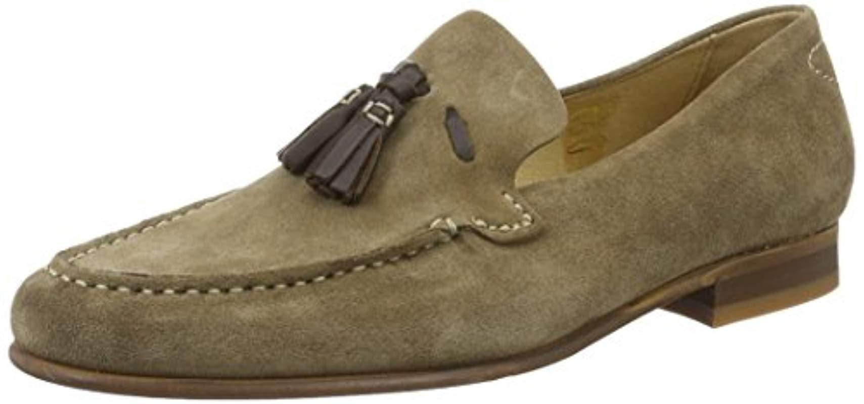 12a0aa42029 Hudson Jeans Bernini Loafers in Brown for Men - Lyst