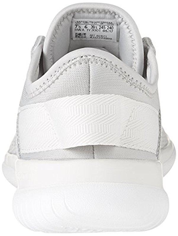 Lyst Adidas Cloudfoam Qt Flex Grigio / / Grigio Due Due / Grigio Crystal White 9 0bffd6