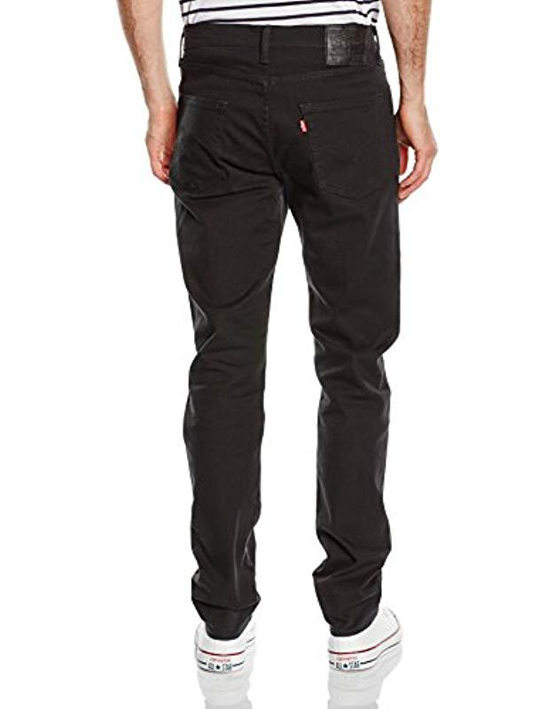 9a1e18b478b ... Levi's - Black 522 Slim Tapered Jeans for Men - Lyst. Visit Amazon. Tap  to visit site