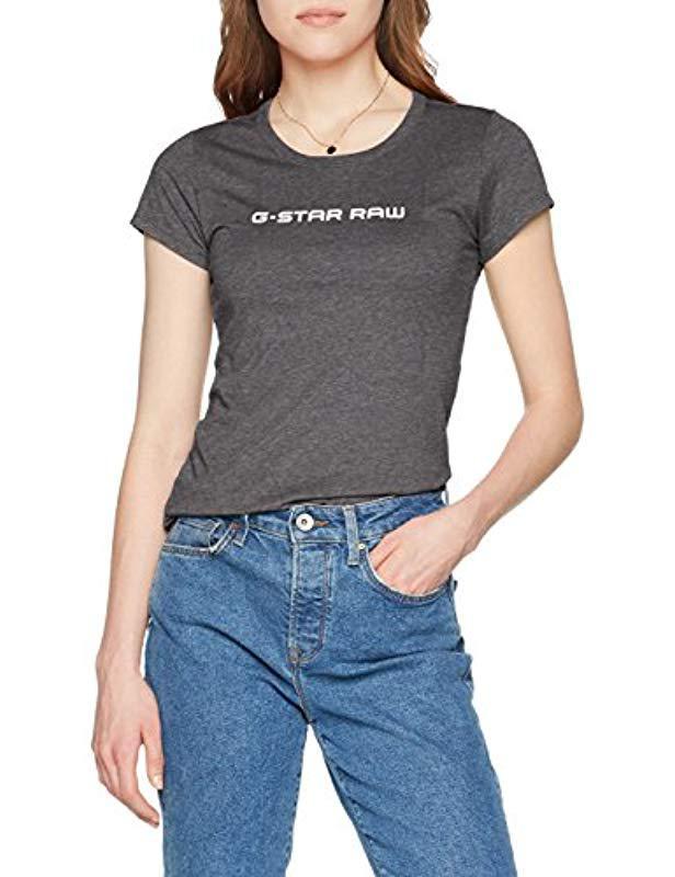 ba922659d16 G-Star Raw T-shirt in Black - Save 24.13793103448276% - Lyst
