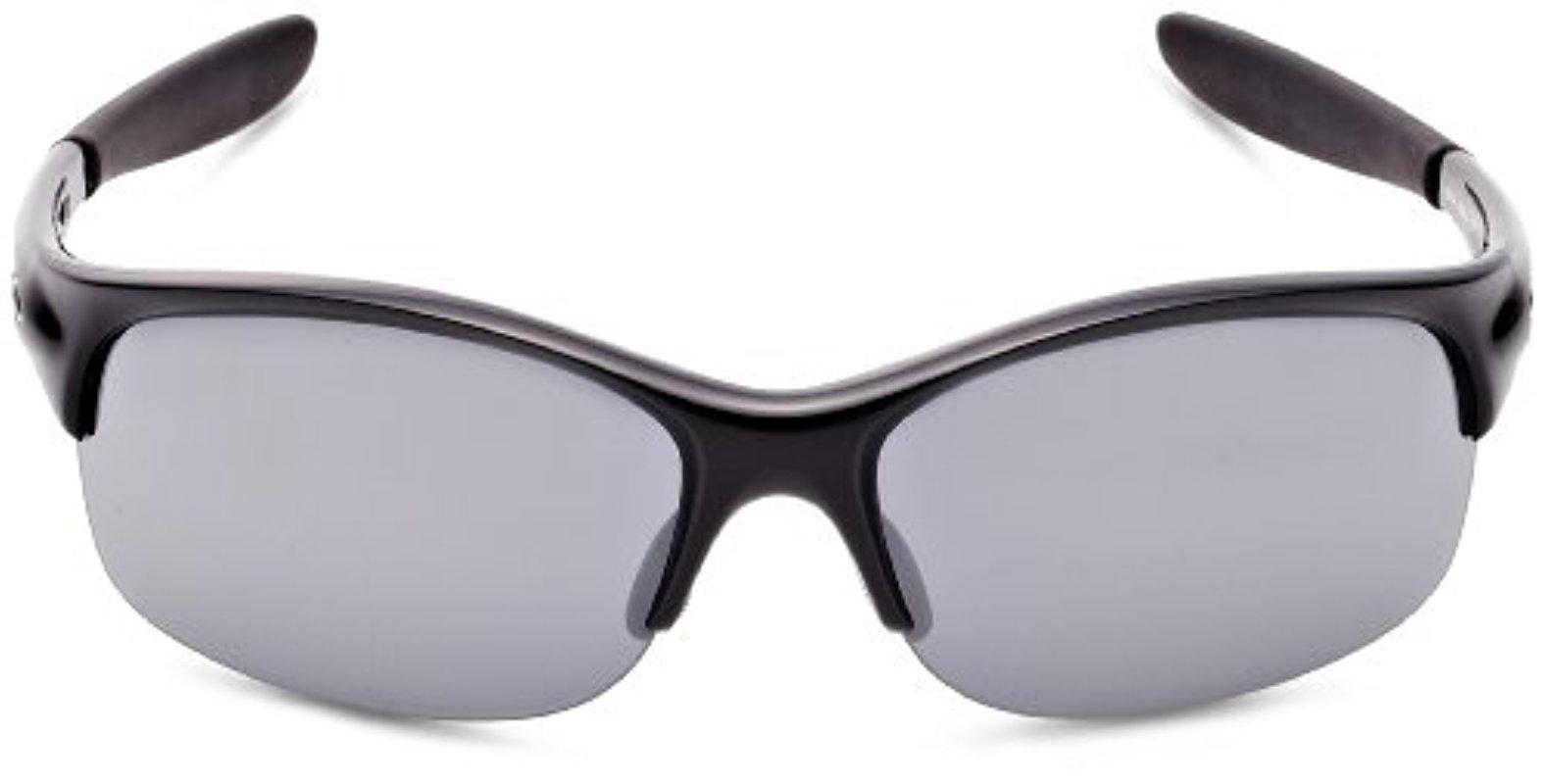 10db6b2f9ab Lyst - Oakley Commit Iridium Rimless Sunglasses in Black for Men