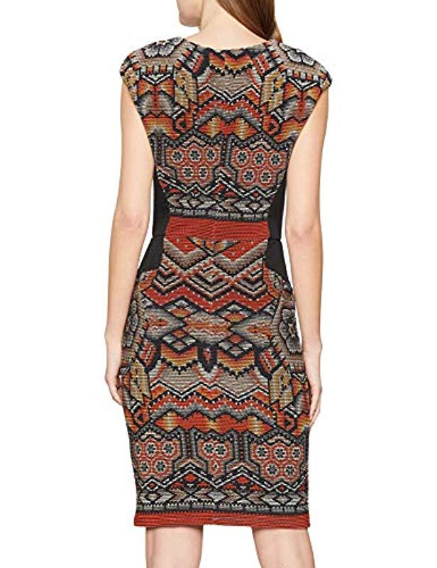 African DuniaVestido Mujer Para Lyst Dress Desigual e9YHWIED2