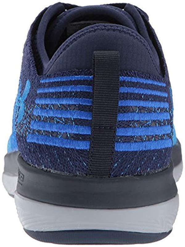 the best attitude c5d89 dee54 Lyst - Under Armour Threadborne Fortis Running Shoe in Blue for Men - Save  23%