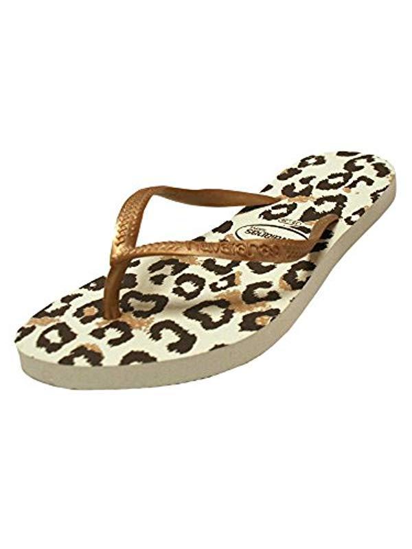 0a8c1ebc0767 Havaianas. Women s Slim Animal Flip Flop Sandal