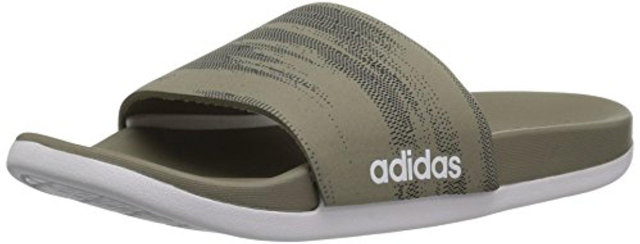 41c77d262 Lyst - Adidas Originals Adidas Adilette Cf+ Link Gr Slide Sandal ...