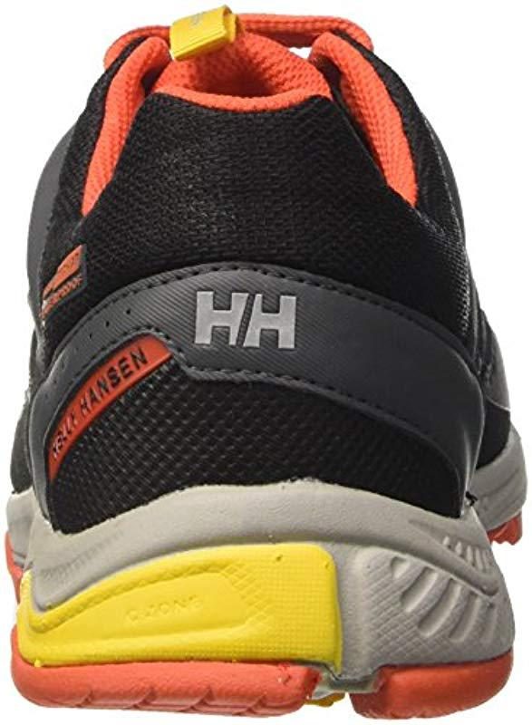 33f91a2b Helly Hansen Pace Trail 2 Ht Low Rise Hiking Boots in Black for Men ...