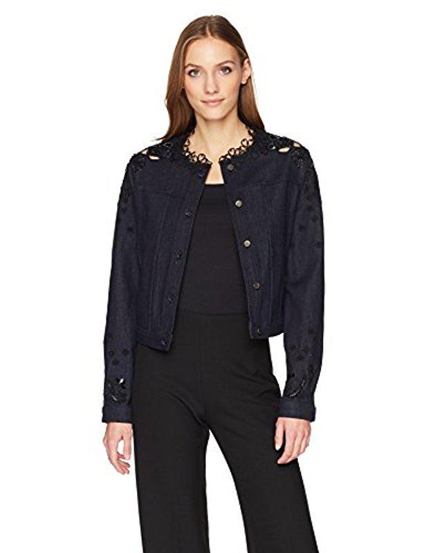 Jacket Lyst Blue Elie In Esperanza Tahari qzvzHrt