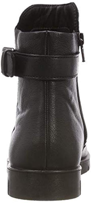 70a0e5fc5f37 Ecco - Black Bella Ankle Boots - Lyst. View fullscreen