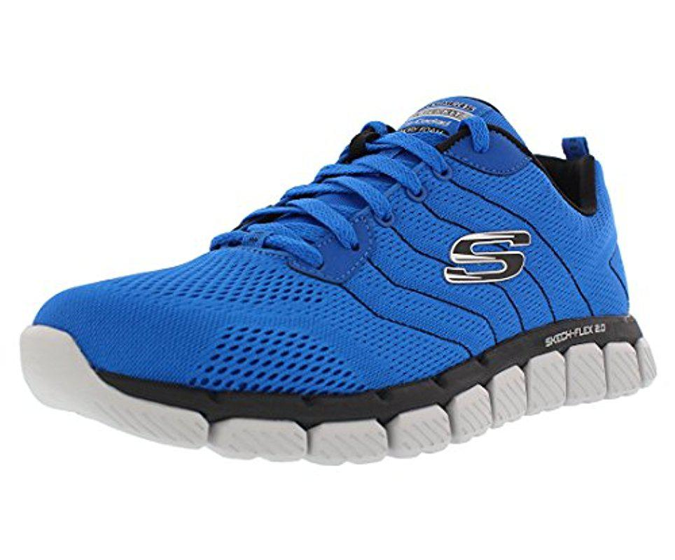 Lyst Skechers Skech Flex 2.0 Milwee Fashion Sneaker in Blau Men for Men Blau 6794f1