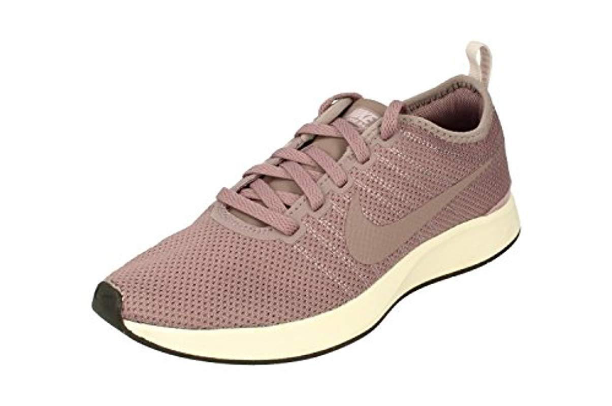 Nike Wmns Dualtone Racer Shoes In Gray Fabric 917682-004 in Pink for ... e66225270