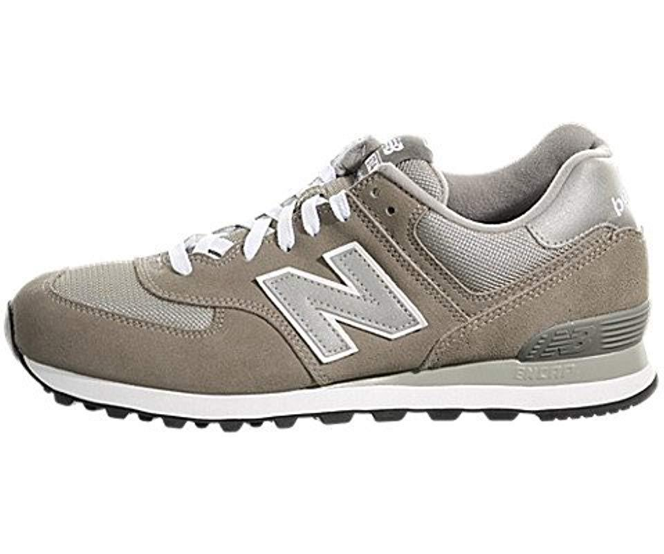 7c2d7cfac696 ... usa new balance s m574gs clogs and mules in white for men lyst 6be55  82314