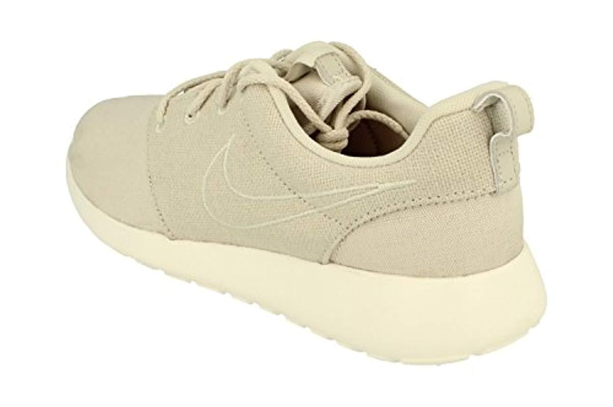 timeless design 1c24a 132be Nike - Natural Roshe One Premium,  s Trainers for Men - Lyst. View  fullscreen