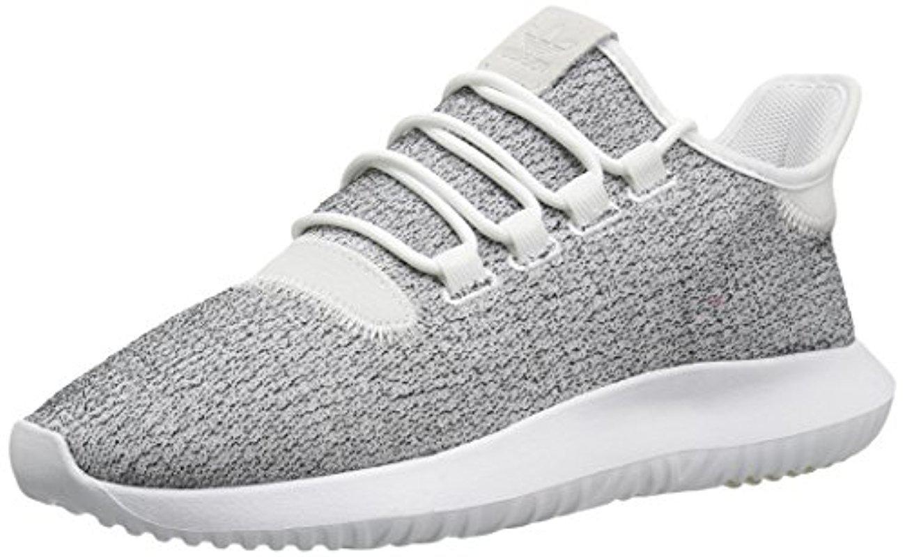 lyst adidas originali tubulare, scarpe da ginnastica in bianco per gli uomini ombra