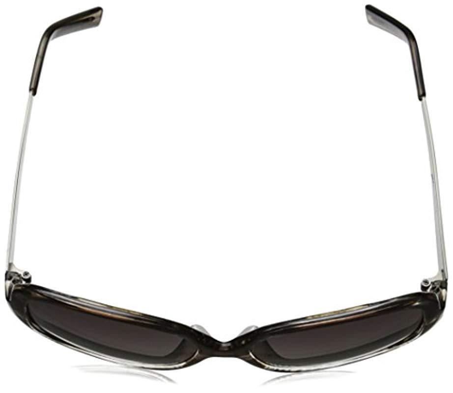 263d98db9e Lyst - Adrienne Vittadini Av1019 Square Sunglasses in Gray