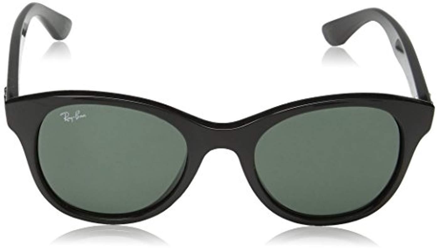 23c120d186 Ray-Ban - Black Unisex Sunglasses Rb4203 - Lyst. View fullscreen