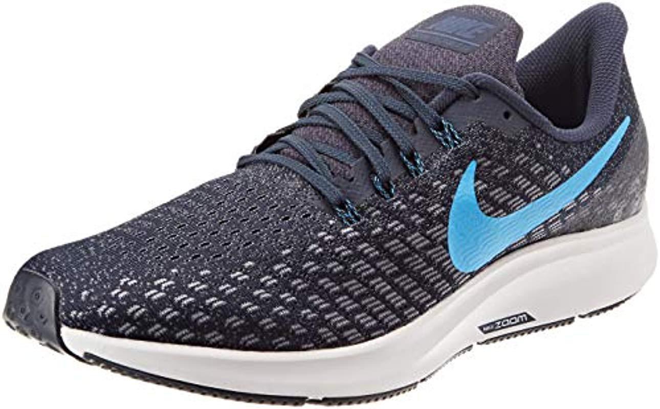 brand new b6460 e80b4 Nike. Men s Blue Air Zoom Pegasus 35 Running Shoes