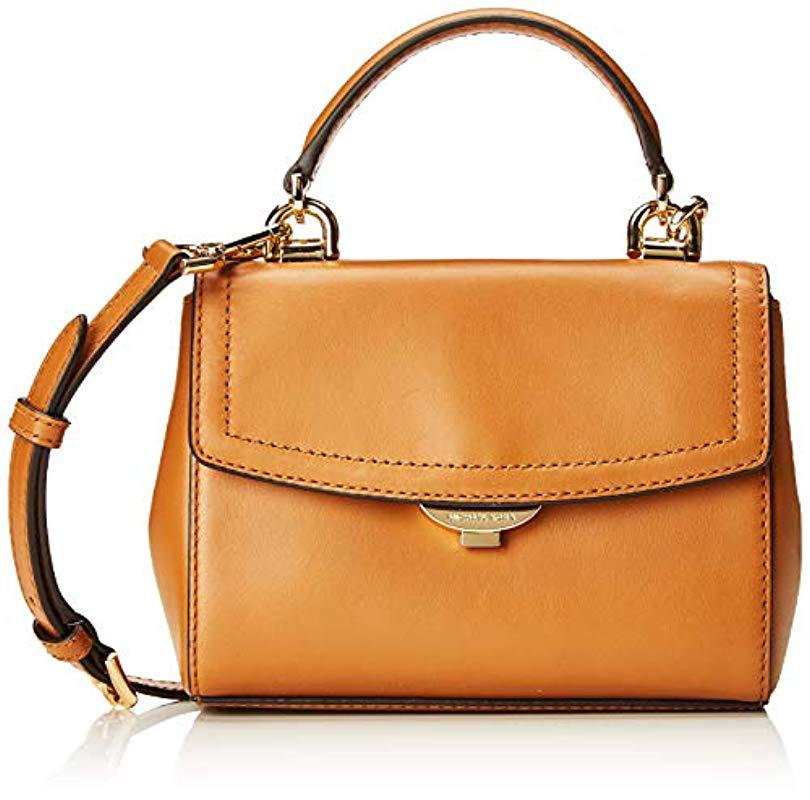 1ce354dc83 Michael Kors. Women s Brown Ava Extra-small Leather Crossbody Cross-body Bag