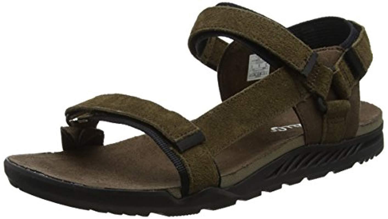 dd8435ffff9 Merrell  s Burnt Rock Anders Strap Open Toe Sandals in Black for Men ...