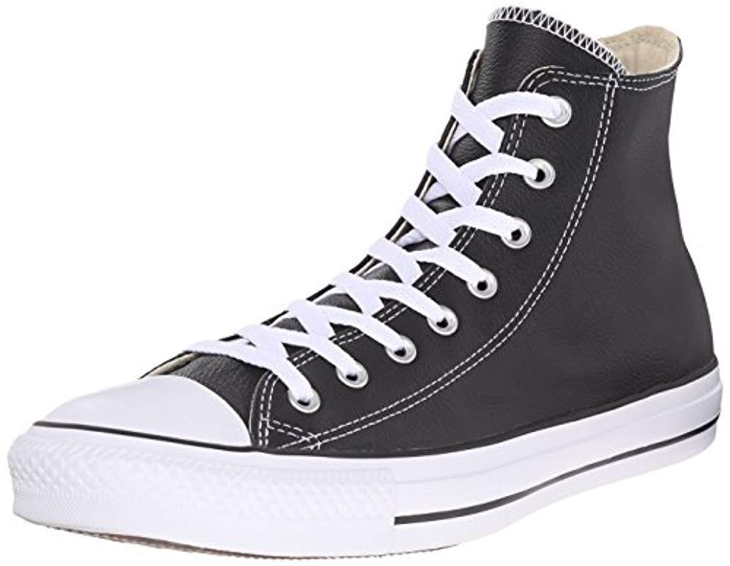 ae8b5502414e34 Converse. Black Unisex Adults  Chuck Taylor All Star High Outdoor Sports  Shoes
