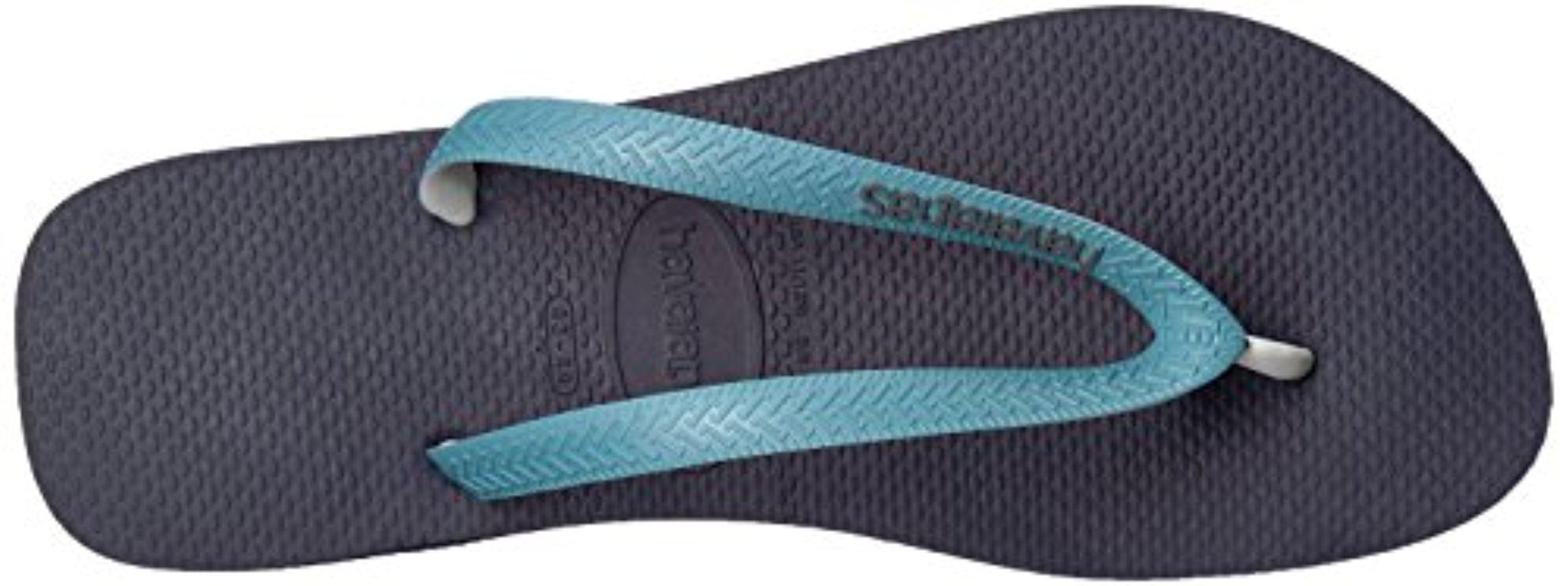 6be149f8bee9 Lyst - Havaianas Top Mix Sandal Navy Mineral Blue in Blue for Men