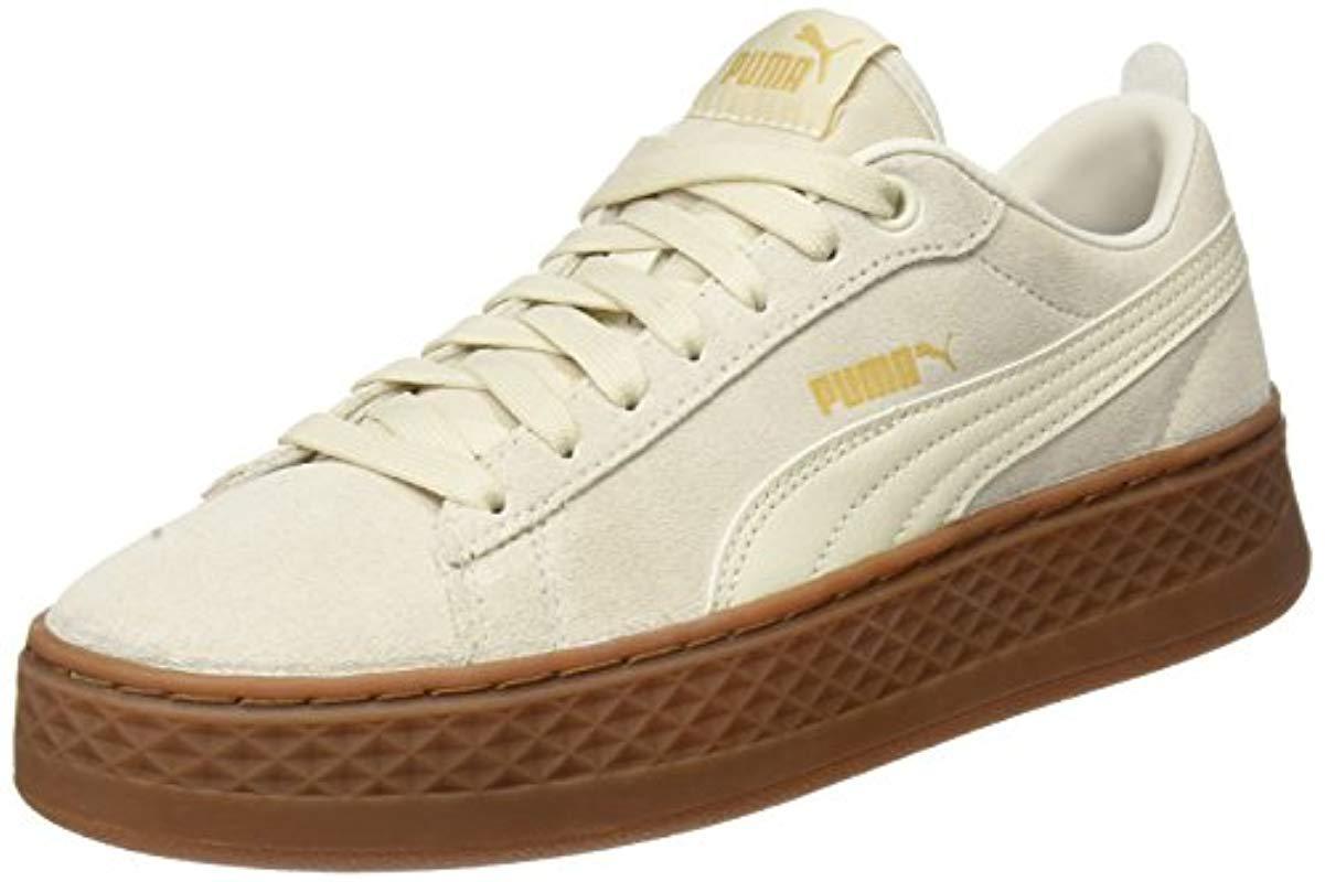 3528d491b0df PUMA Smash Platform Sd Low-top Sneakers Black in Natural - Save 36 ...