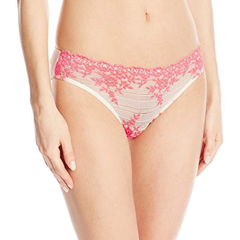 19968f6d4973f Wacoal. Women s Embrace Lace Bikini Panty