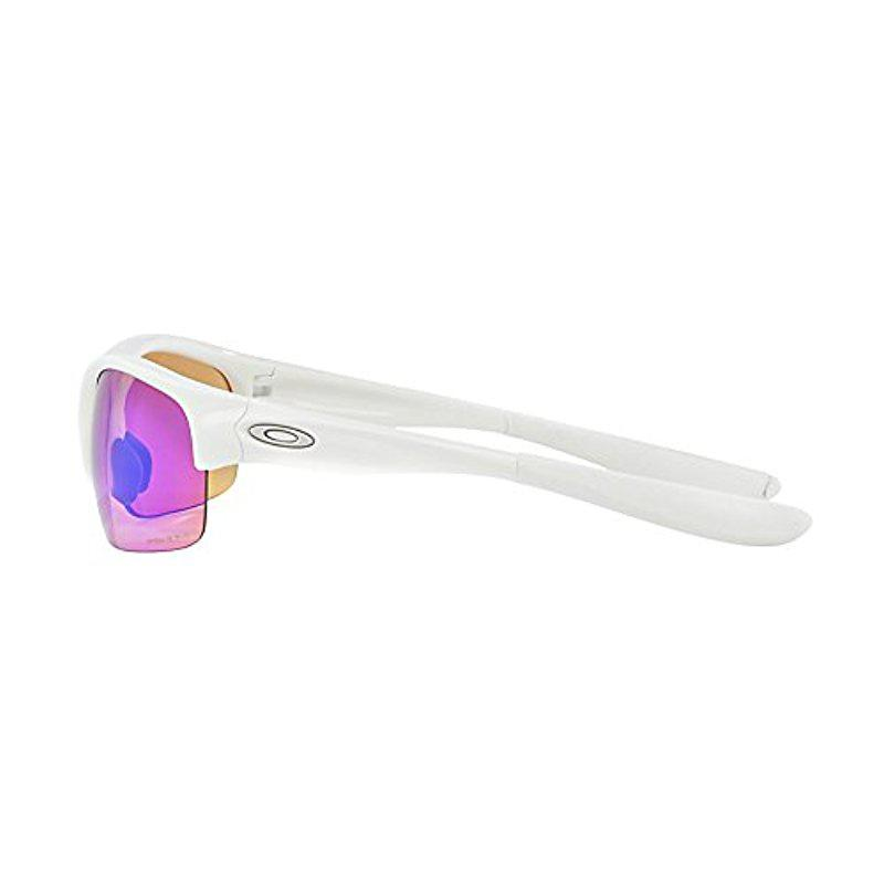 3424d34d3fe Lyst - Oakley Commit Iridium Rimless Sunglasses