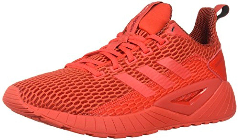 lyst adidas questar cc scarpa da corsa in rosso per gli uomini.