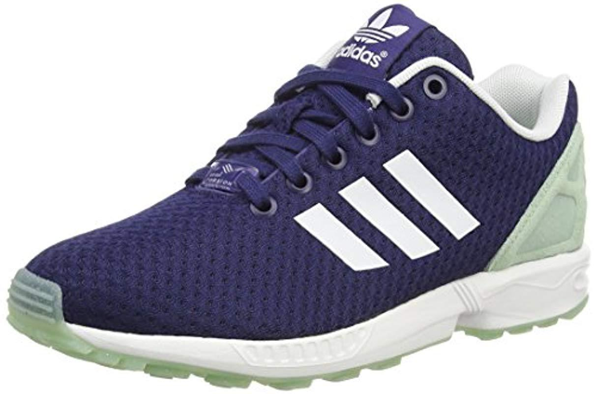 innovative design 7a0e4 edb1d adidas. Womens Blue Zx Flux ...