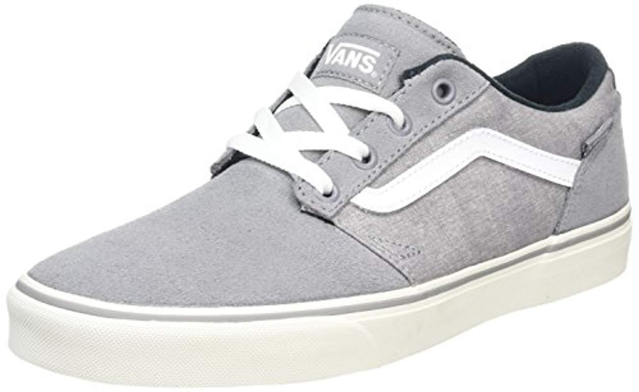 b90d0ddfa8 Vans Mn Chapman Stripe Low-top Sneakers in Gray for Men - Lyst