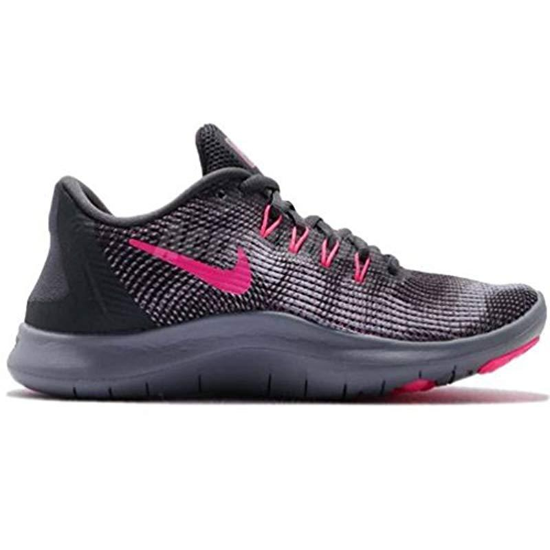 outlet store 641b4 82673 Nike Damen Laufschuh Flex Run 2018 Competition Shoes in Gray - Lyst