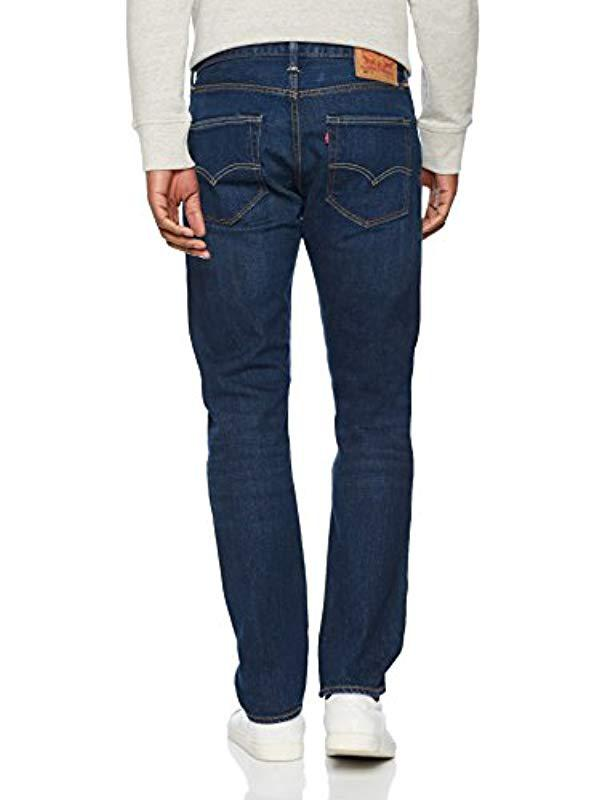 874682b4 Levi's - Blue 501 Tapered Fit Jeans for Men - Lyst. View fullscreen