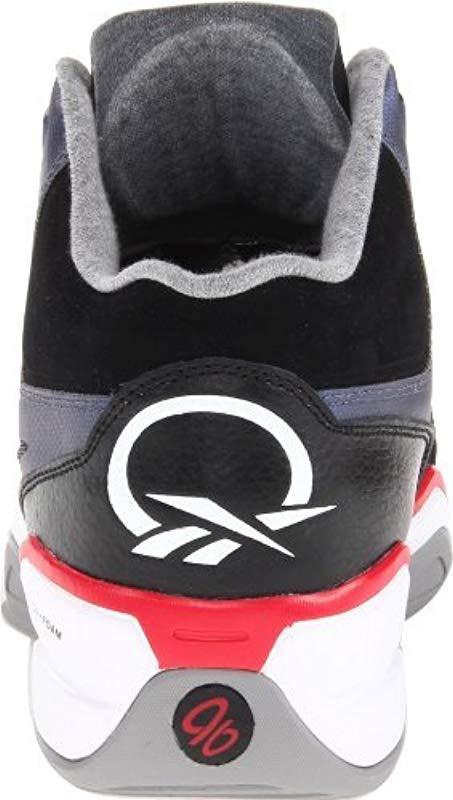 fb34c1052089 Reebok - Multicolor Q96 Crossexamine Basketball Shoe for Men - Lyst. View  fullscreen