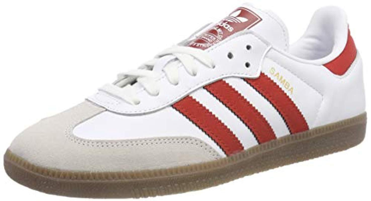 competitive price af208 03a8c adidas Samba Og Fitness Shoes in White for Men - Lyst