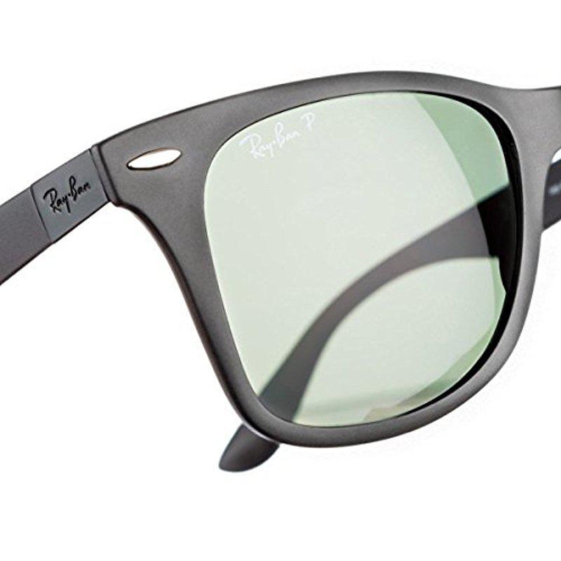 57b62dd1c4 Lyst - Ray-Ban Wayfarer Liteforce - Matte Black Frame Polar Green ...