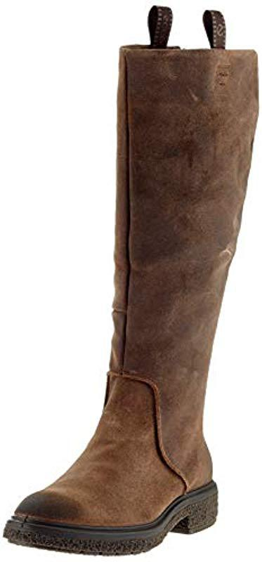 Ecco Boots Save Hybrid Crepetray Brown High L In ArAPwa