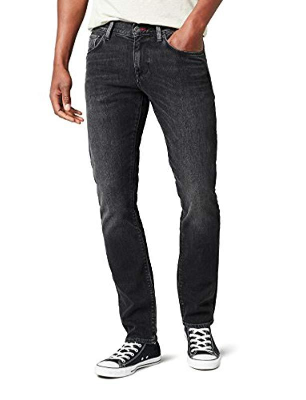 9c80d8e5e Tommy Hilfiger Core Bleecker Slim Jean in Black for Men - Lyst