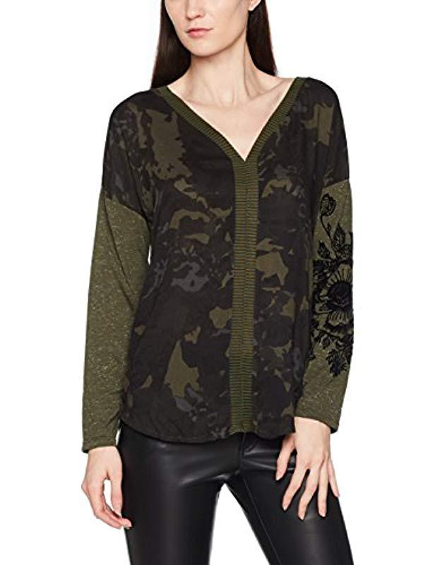 Desigual Ts camiseta T-shirt in Green - Lyst fc6198122df2d