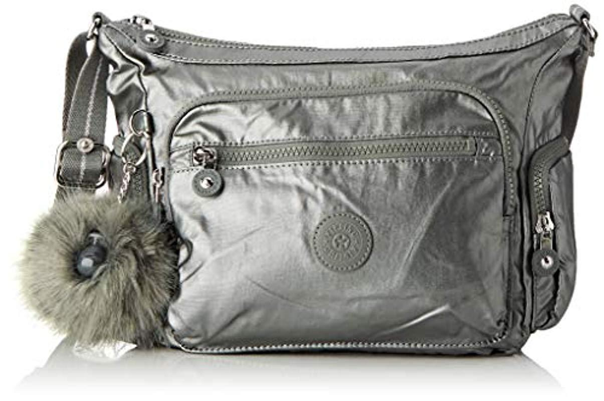 d6ac9fb2ebea Kipling Gabbie S Cross-body Bag in Gray - Lyst