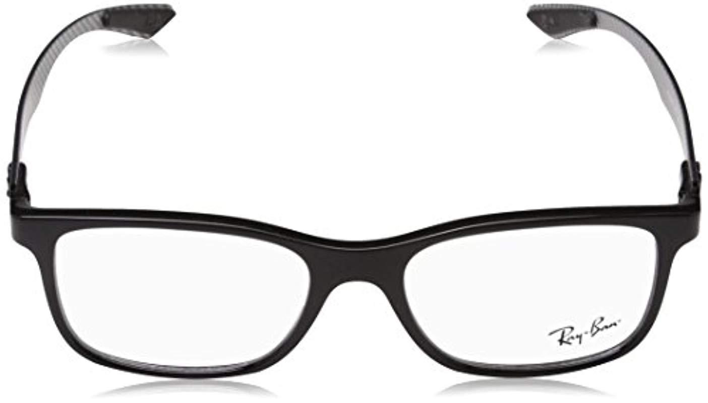 e4a7f6fdcd Ray-Ban Rx8903 Eyeglasses in Black for Men - Lyst