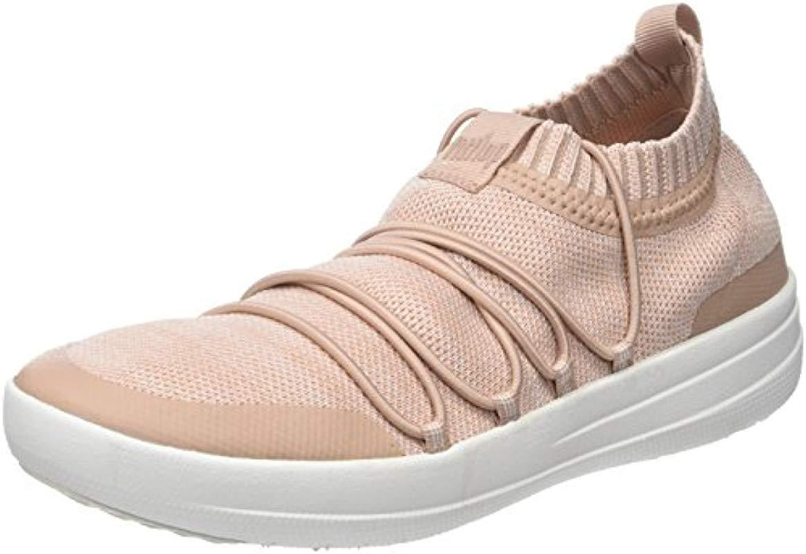 0d0c8a47bb18 Fitflop Uberknit Slip-on Ghillie Sneakers Slip On Trainers - Lyst
