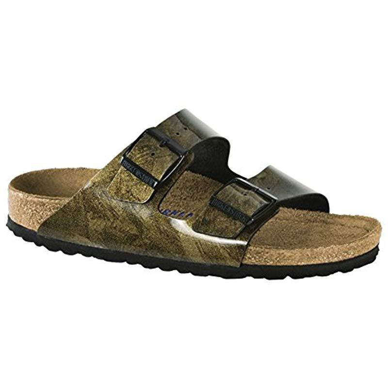 7da07ab1dff8 Lyst - Birkenstock Arizona Birko-flor Sandals in Brown - Save ...