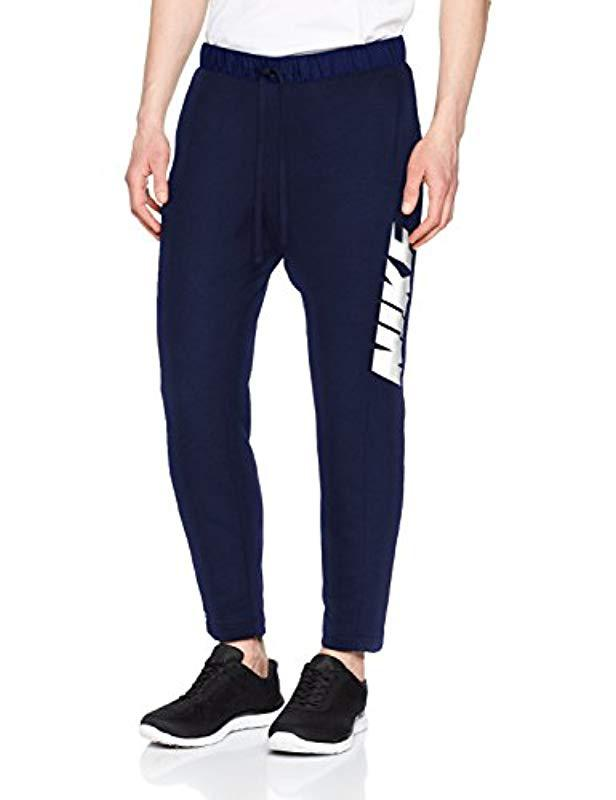 2f5a0aefd86 Nike 885947 Trousers in Blue for Men - Lyst