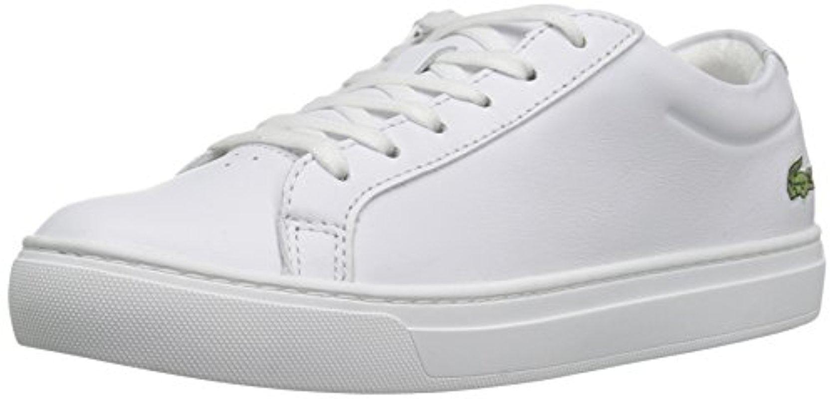 Lacoste. Women's White L.12.12 117 1 Fashion Sneaker