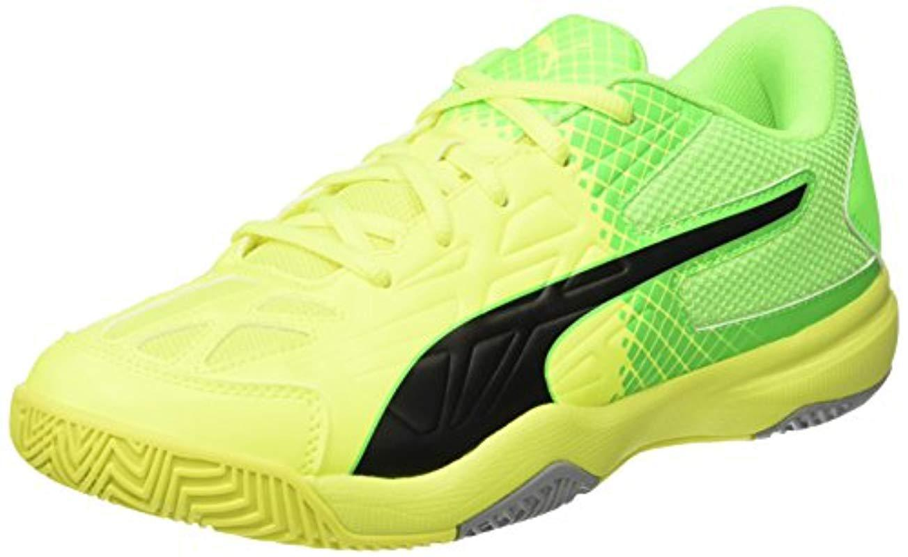 d6dde9b49cdd PUMA Unisex Adults  Evospeed Indoor 5.5 Football Boots in Yellow for ...