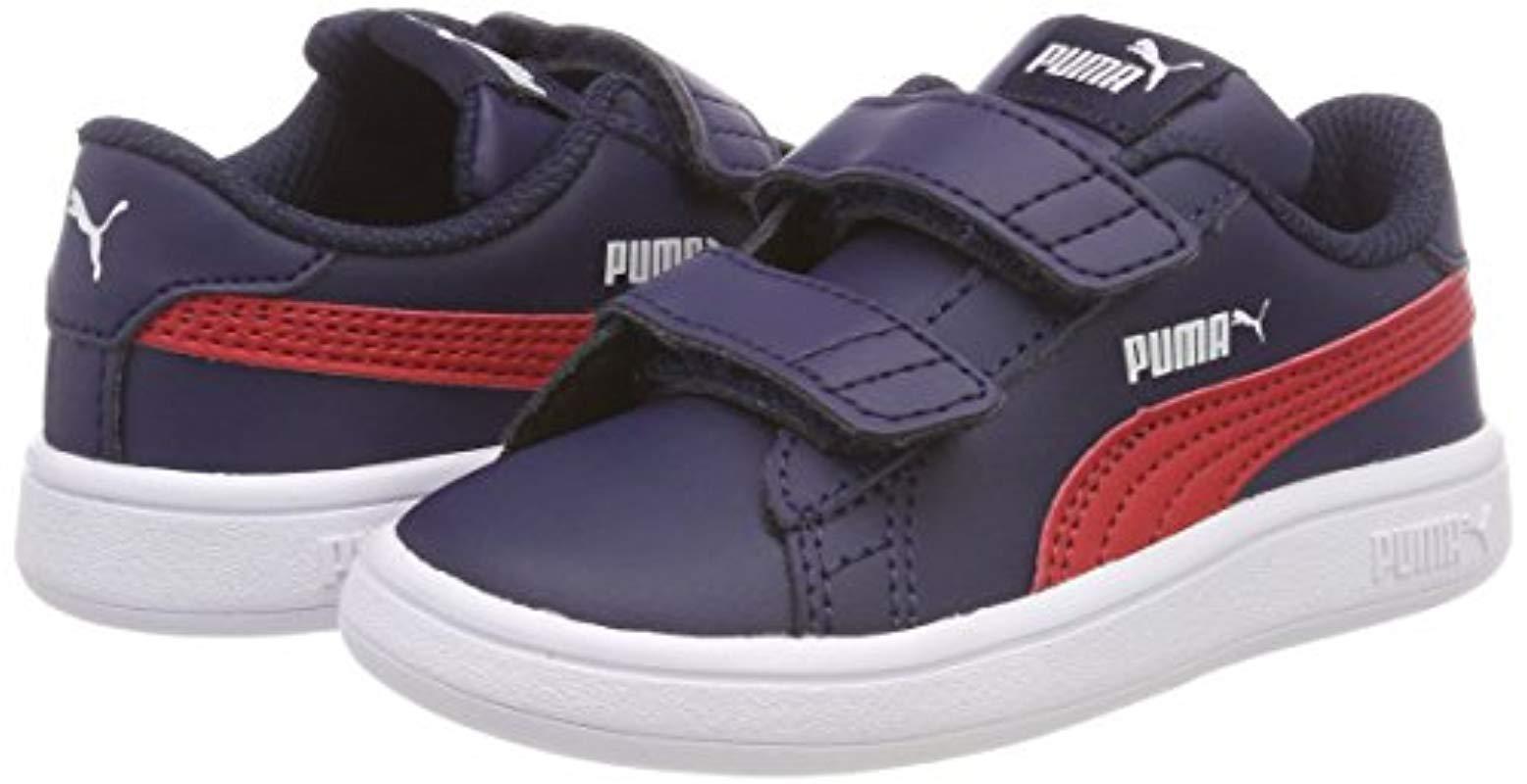 the latest c395c da0b5 Smash V2 L V Inf, Sneakers Basses Mixte bébé PUMA pour homme - 9 % de  réduction - Lyst